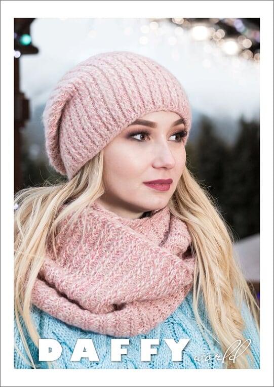 Icelandic Production Burgundy Pink Crochet Cap