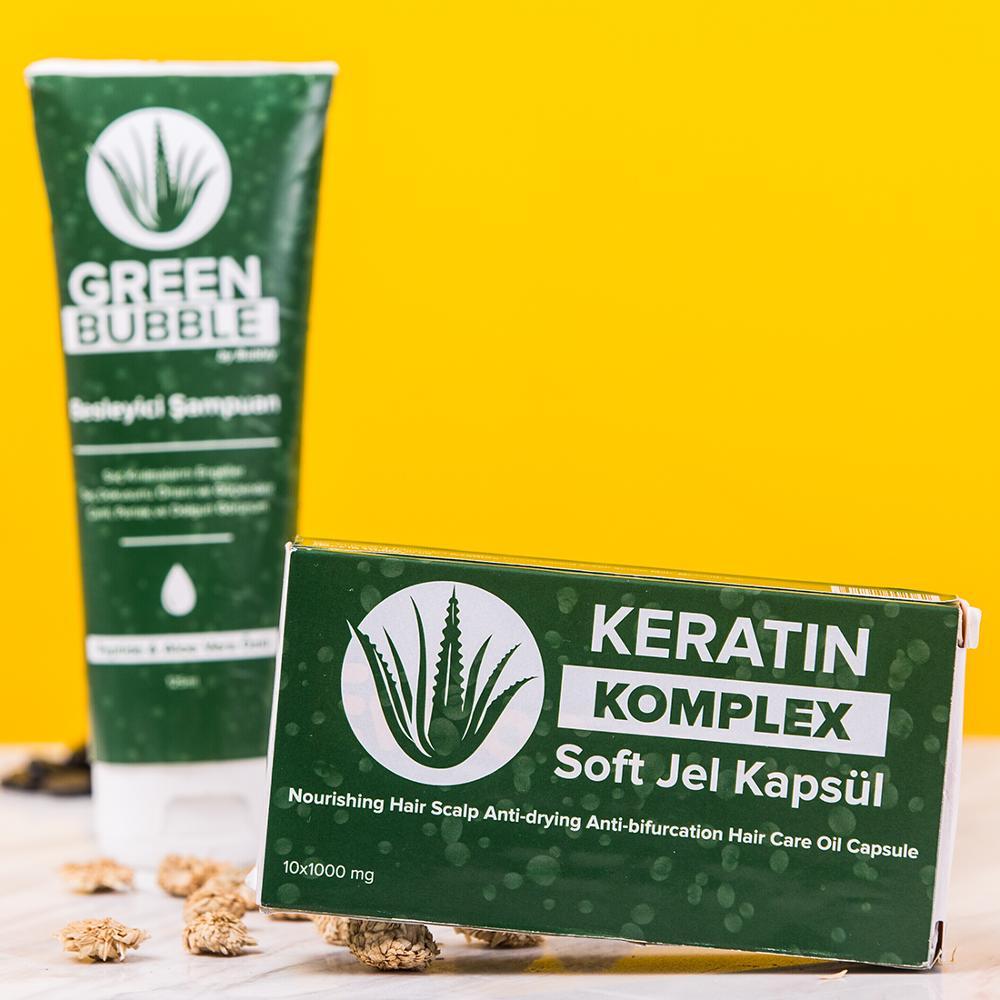 Green Bubble Keratin Complex - Buy Keratin Complex,Aloe Vera Shampoo,Multivitamin  Complex Product on Alibaba.com