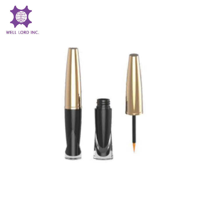 Glitter grand lash eyeliner packaging tube cylinder cosmetic jars and bottles