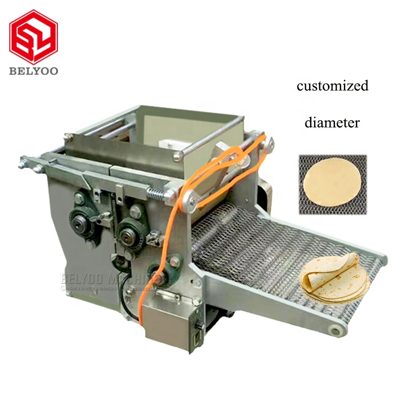 Fully automatic electric customized diameter maize tacos <strong>corn</strong> tortilla maker machine