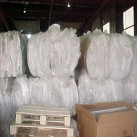 DRY AND CLEAR /NATURAL LDPE FILM SCRAP 100% 98/2 99/1 95/5 80%