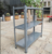 60-120kg/level Store Display Metal Slotted Angle Shelving
