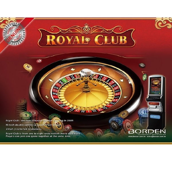Electronic roulette game Royal Club american roulette фото