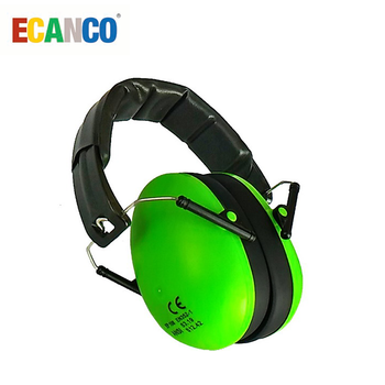 Bright Green Protection Ear Safety Baby Earmuff