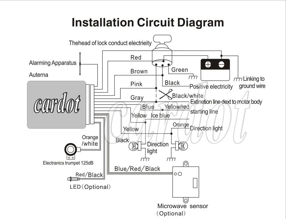 code alarm installation manual