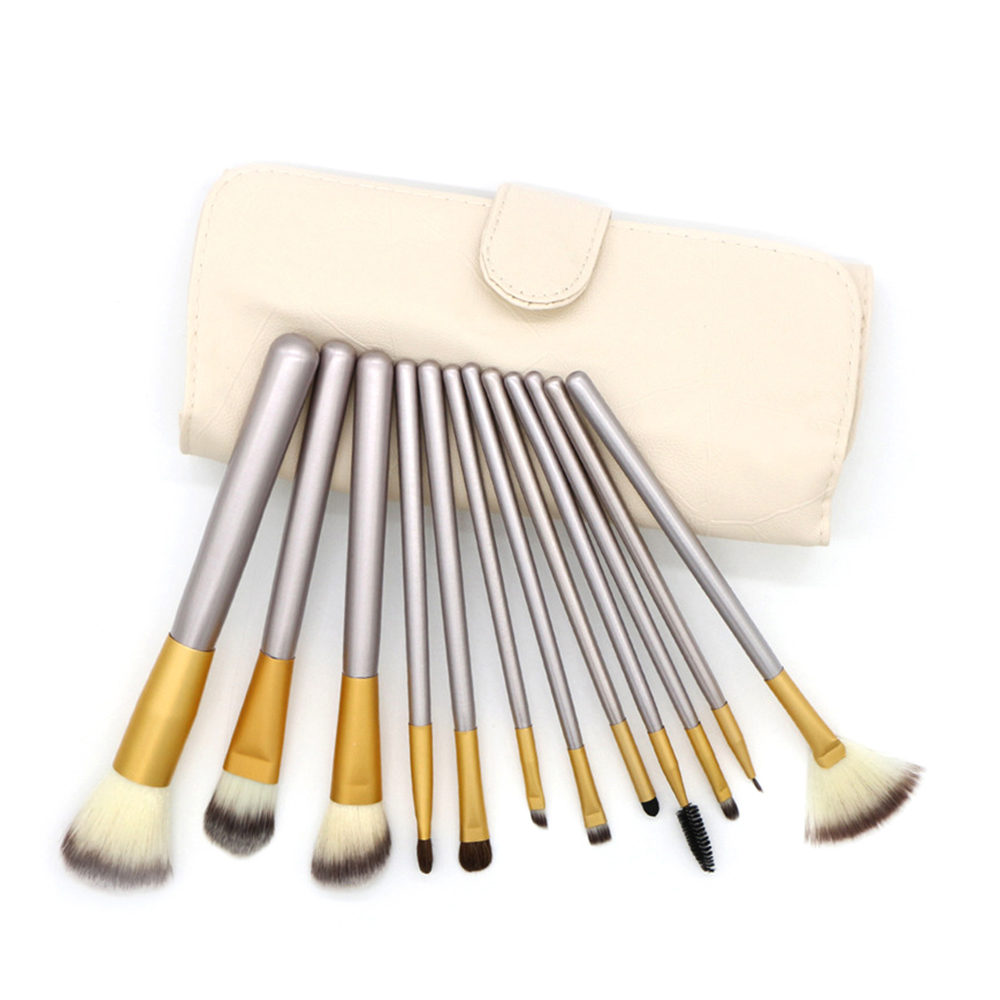 <strong>High</strong> <strong>Quality</strong> <strong>Makeup</strong> <strong>Brush</strong> Set Wood Handle <strong>Makeup</strong> <strong>Brushes</strong> with PU Bag