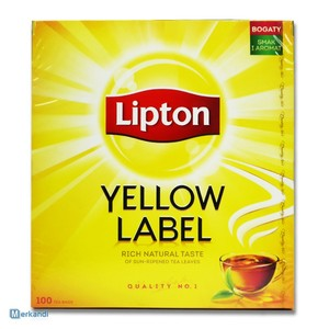 LIPTON Yellow Label 100pcs