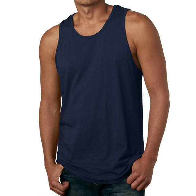 Heren TANK TOP Shirt Plain Katoen Basic Spier Gym Workout Mouwloze Tee, mens athletic tank top