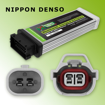 PT E85 - Ethanol Conversion Kit - Nippon-Denso - Converter ECU with C Cable for 4 cylinders - any mix of bioethanol & petrol