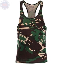 Parte superior do tanque camo mens