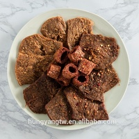 Vegan food jerky for plant protein snack