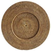 Elegant glitter Vietnam Cheap bamboo disposable gold charger plate