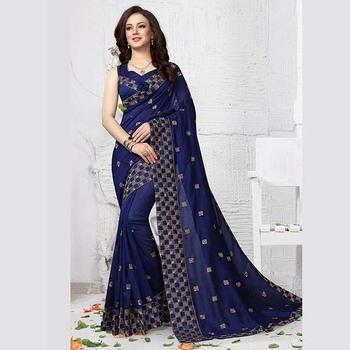 e47ff3b163 Vichitra Silk Latest Designer Party Wear Butti Work Sarees Wholesale  Collection