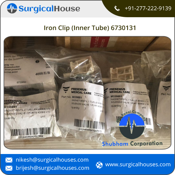 High Quality Iron Clip (Inner Tube) 6730131 Dialysis Machine Parts