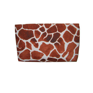 Abstract Print Travel Cosmetic Pouch