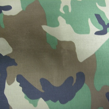 Best price Korean Nylon 1000D Cordura / Camouflage / woodland / PU coated / military printed fabric