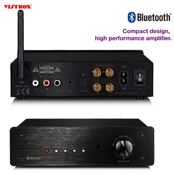 Version 4.2 Bluetooth 50W*2 2-Ch Mini Audio Class D Digital Amplifier with Subwoofer Output