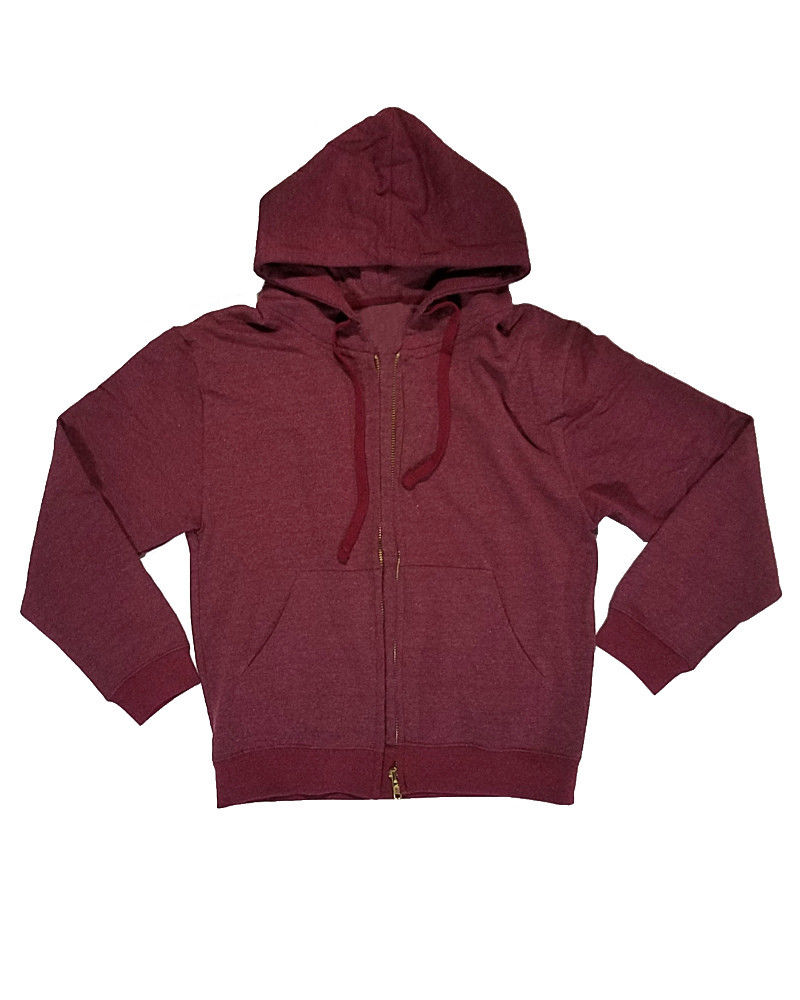 Street Wear Men Full Zipper Hoodies/ปกติ Fit ขนแกะ Hoodies