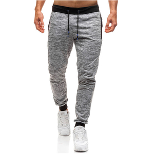 High Quality Street Wear Blank Wholesale 100% Cotton Plain Sweat Pant