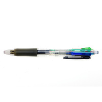 High Quality Custom Made OEM/ODM Fashionable 4 in 1 Plastic Ballpoint Pen Black Blue Red Green Color Ink for Promotional Gift