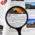 Handheld Magnifying Glass Bifocal Lens for Reading
