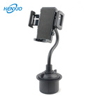 360 Degree Rotatable Cradle Long Arm Car Cup Holder Phone Mount Cell Phone Cup Holder