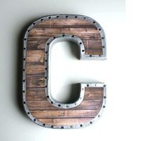hot sale wooden crafts English letter