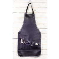 Wholesale Men OEM Aprons Barber Jeans Women Leather apron Salon Aprons