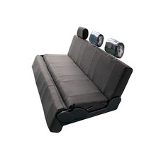 van seat that can be bed covered with cloth