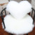 Cute two sides fur heart shaped faux fur pillow cushion