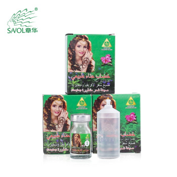 Wholesale cheap price black natural henna powder hair dye for gray hair to black