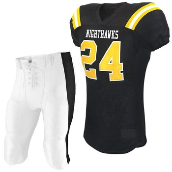 uniform football american Custom American Football Uniforms Tackle Twill Customized Youth Football Uniforms Sets