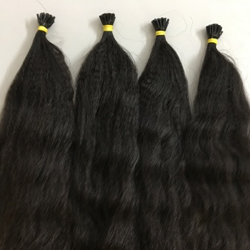 Big kinky curly hair extension of Human hair