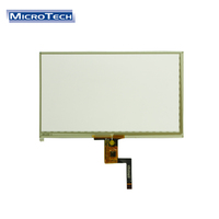7inch 800*480 Pixels 10 PIN Capacitive Lcd Screen Touch Panel