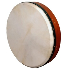 Muzikkon Irish Bodhran 18 inch Bodhran Drum Tunable  Irish Drum Shamnic Drum