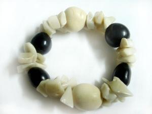 Handmade bracelets, Bangles for women, Wholesale Tagua Nut Jewelry, Colombian jewelry,