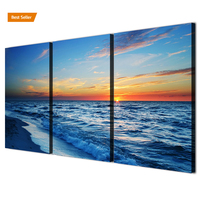 High quality new style canvas print 3 Panel art wall painting for hotel