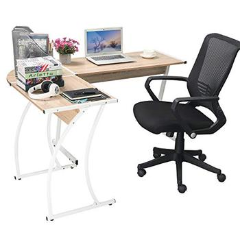 L-Shape Office Table Executive Office Desk Wooden Table for Manager Modern Fashion Design Desk for Office Furniture