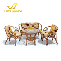 Popular and Everlasting Design Rattan Wicker Sofa Furniture Luxury Coffee Table Sets