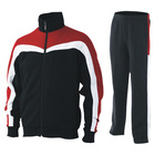 men's muscle fit track suits running jogger wear gym apparel tracksuit with custom logo