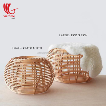 Decor Home Rattan Table Side For Relaxing/ Rattan Coffee Tea Table Wholesale