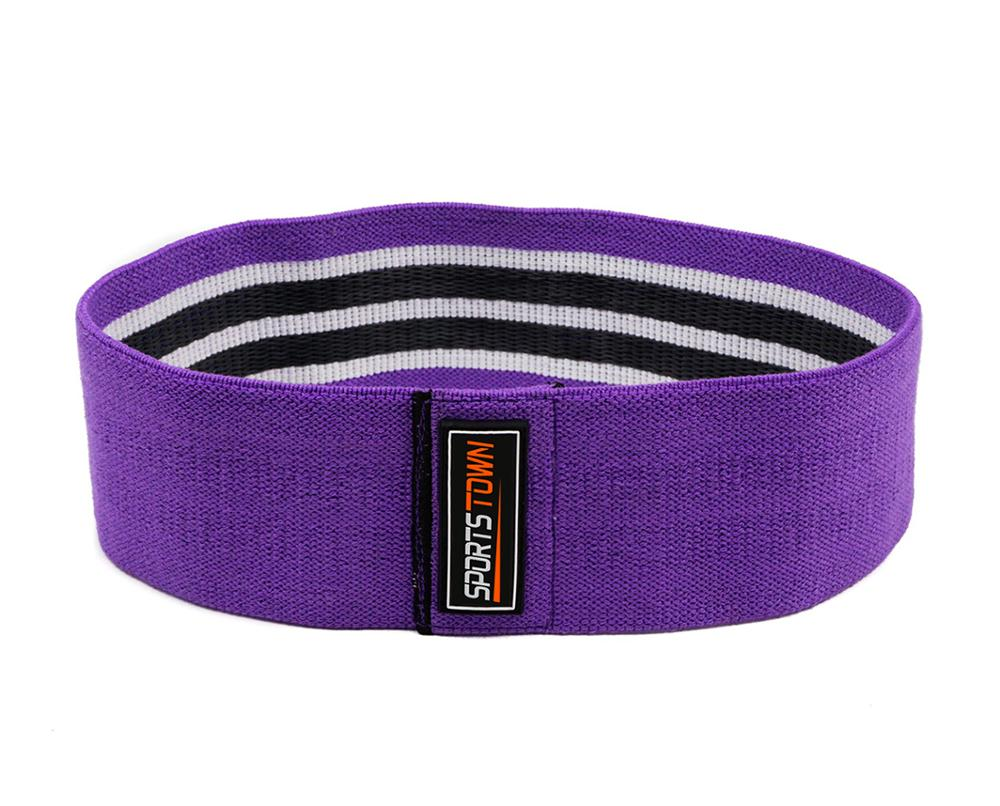 Paars Hip Cirkel Super Heavy Resistance Loop Bands voor Booty & Glutes Shaping Hip Bands