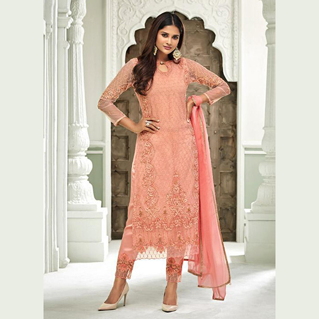 e1bc3ef8e7 Ramzan Eid Special Designer Hand Work Net Salwar Suits Wholesale Collection