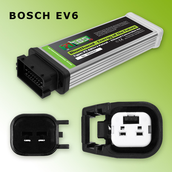 PT E85 - Ethanol Conversion Kit - Bosch EV6 - Converter ECU with E Cable for 4 cylinders - any mix of bioethanol & petrol