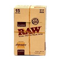 Raw Smoking Rolling Paper / King Slim / Cone / Classic / Natural Rolling Papers + Tips