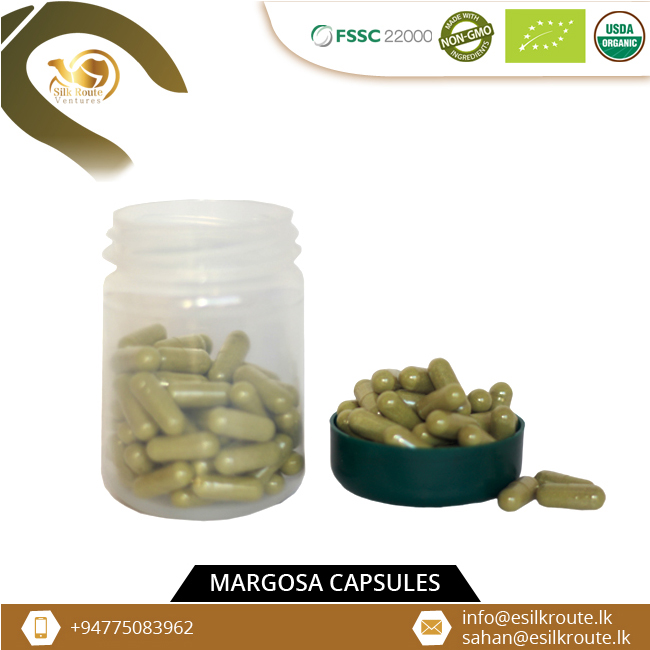 Органические Margosa капсулы