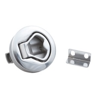 Marine hardware boat accessories Stainless Steel round lift ring slam latch hatch lock