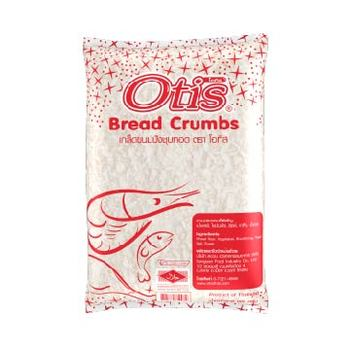 Halal Certified White Bread Crumbs For Fried Food Additive Otis Brand