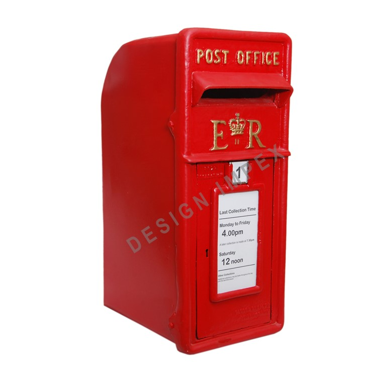 "Gusseisen ""ROYAL MAIL POST BOX"""