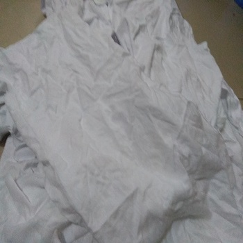 White Color Cotton Waste Clips Supplier